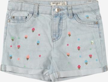 Jeans de la OVS pe albastru