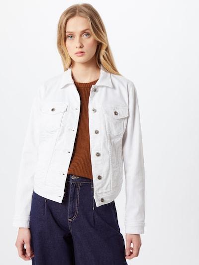 EDC BY ESPRIT Prehodna jakna | bela barva, Prikaz modela