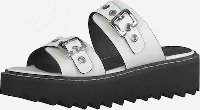 TAMARIS Pantofle - černá / bílá, Produkt