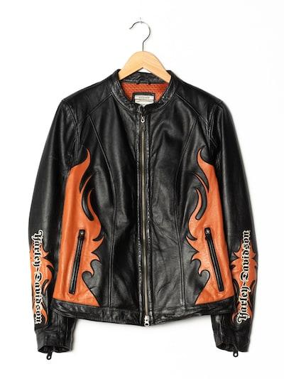 Harley Davidson Lederjacke in M-L in schwarz, Produktansicht