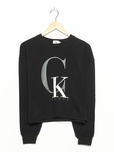 Calvin Klein Pullover in L in schwarzmeliert, Produktansicht