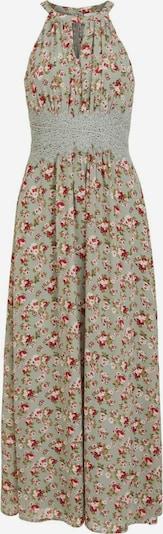 VILA Robe de soirée en vert pastel / vert clair / rose / framboise / blanc, Vue avec produit