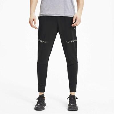 PUMA Sportbroek in de kleur Zwart: Vooraanzicht