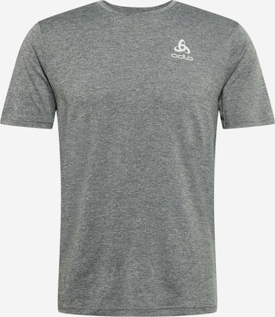 ODLO Sporta krekls raibi pelēks / balts, Preces skats