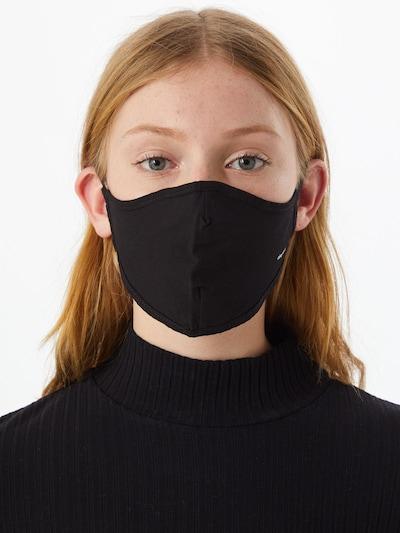 ABOUT YOU Stoffmasken 3er Pack 'Sandra' in schwarz / weiß: Frontalansicht