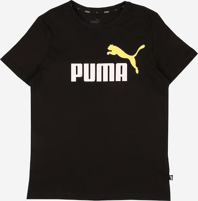 PUMA T-Shirt fonctionnel en jaune / noir / blanc, Vue avec produit