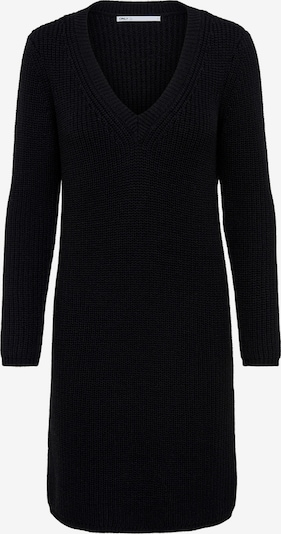 ONLY Knitted dress 'Melton' in Black, Item view