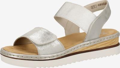 RIEKER Sandale in silber, Produktansicht