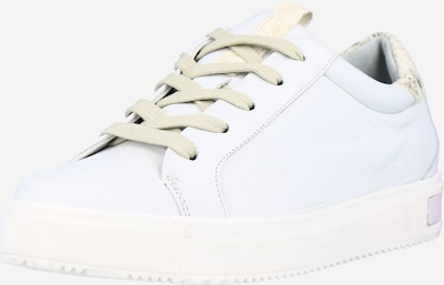 Donna Carolina Sneaker in gold / weiß, Produktansicht