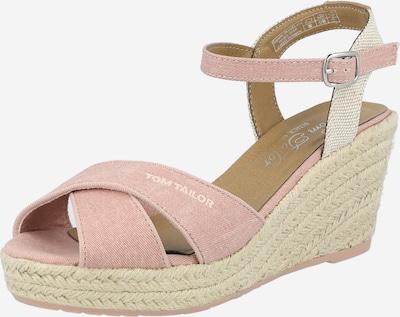 TOM TAILOR Sandale in rosa / weiß, Produktansicht