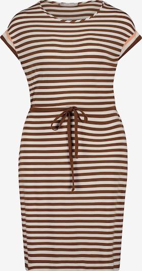 Betty & Co Streifenkleid mit Gürtel in creme / braun, Produktansicht