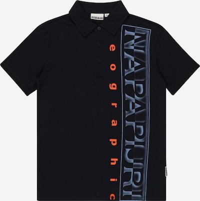 NAPAPIJRI Paita 'EADYR' värissä marine / tummansininen / oranssi, Tuotenäkymä