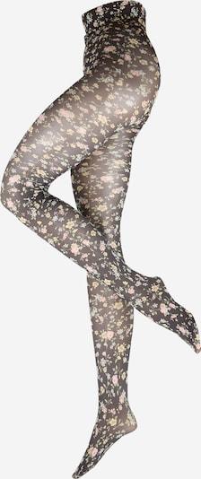 Swedish Stockings Panty's 'Ada' in de kleur Pasteelgeel / Pastelgroen / Rosa / Zwart, Productweergave