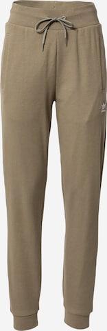Pantalon de sport ADIDAS ORIGINALS en vert