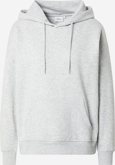 ONLY Sweatshirt in grau: Frontalansicht