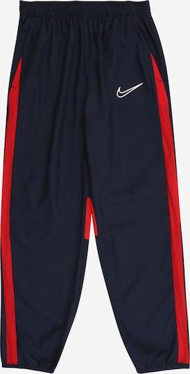 Sportinės kelnės iš NIKE , spalva - tamsiai mėlyna / raudona, Prekių apžvalga