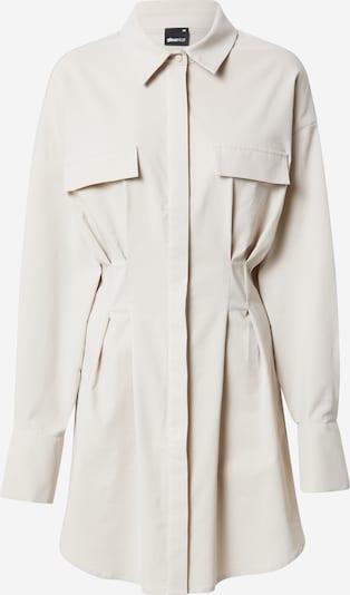 Gina Tricot Skjortklänning 'Emma' i ljusgrå, Produktvy