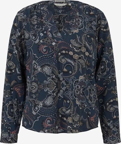 TOM TAILOR Μπλούζα σε σκούρο μπλε / ανάμεικτα χρώματα, Άποψη προϊόντος