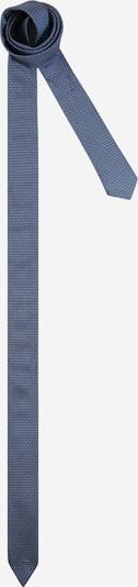 Cravată HUGO pe albastru porumbel / gri-maro, Vizualizare produs
