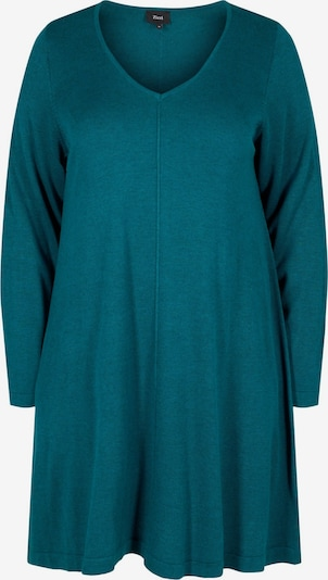 Zizzi Kleid 'Mshape' in nachtblau, Produktansicht