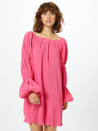 Missguided Kleid in pink, Modelansicht