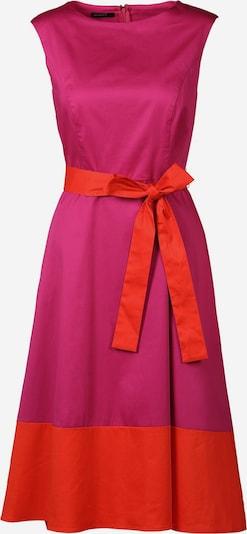 APART Sommerkleid aus Baumwollsatin in pink / orangerot, Produktansicht