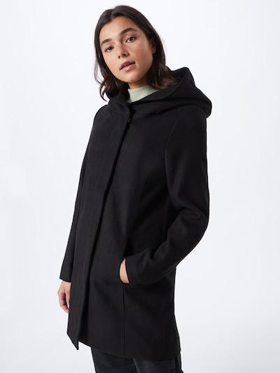 ONLY Manteau mi-saison 'Newsedona' en noir, Vue avec modèle