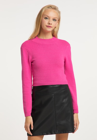 myMo at night Sweater in Neon pink, View model