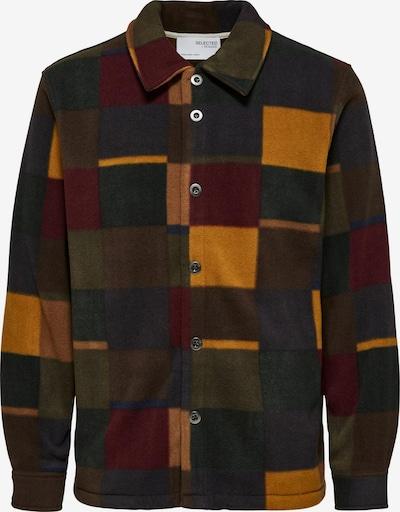 SELECTED HOMME Flis jakna 'SLHKYE' u smeđa, Pregled proizvoda