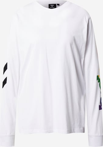 T-Shirt fonctionnel Hummel en blanc