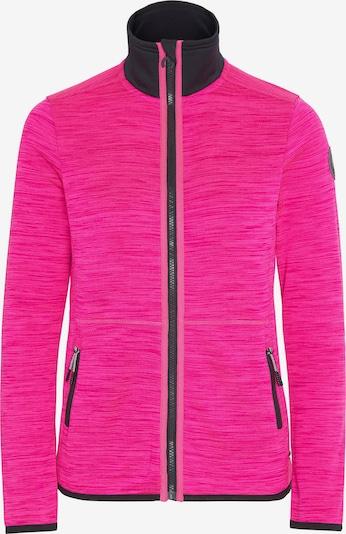 CHIEMSEE Fleecejacke 'Trivor' in pink / schwarz, Produktansicht