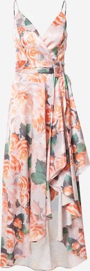 Chi Chi London Večerné šaty - tmavosivá / zelená / tmavooranžová / ružová, Produkt