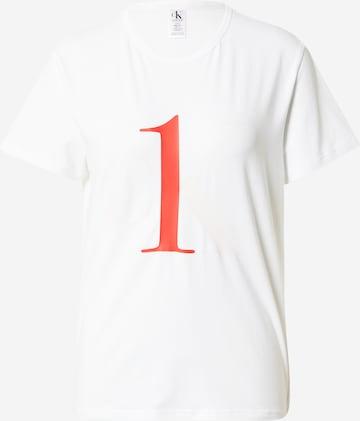 Calvin Klein Underwear Nattskjorte i hvit