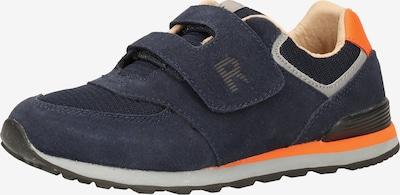 RICHTER Sneakers in de kleur Donkerblauw / Sinaasappel, Productweergave