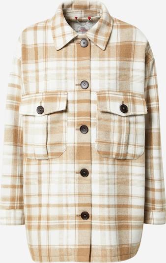 s.Oliver Přechodná bunda - béžová / bílá, Produkt