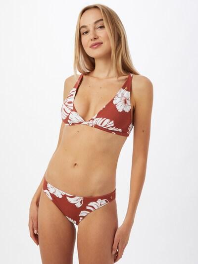 ROXY Bikini 'GARDEN TRIP' en homard / blanc, Vue avec modèle