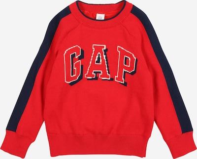 GAP Pullover in nachtblau / rot / weiß, Produktansicht