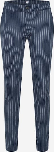 Denim Project Pantalon 'Ponte Roma Plain' en bleu marine / blanc, Vue avec produit