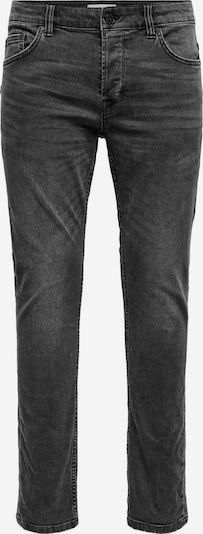Only & Sons ONSLoom Life Slim Fit Jeans in schwarz, Produktansicht