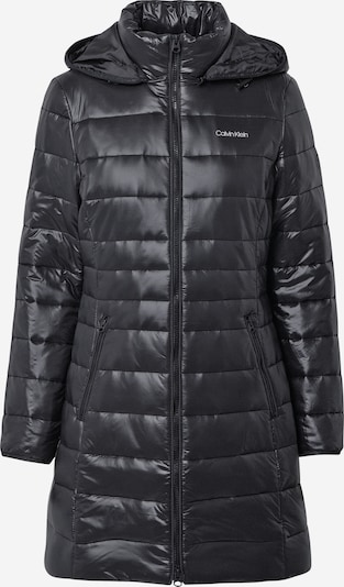 Palton de iarnă Calvin Klein pe negru, Vizualizare produs