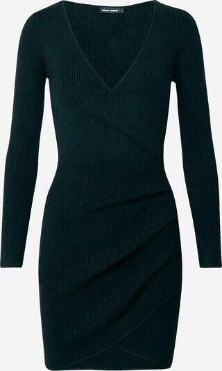 Tally Weijl Sukienka z dzianiny w kolorze czarnym, Podgląd produktu
