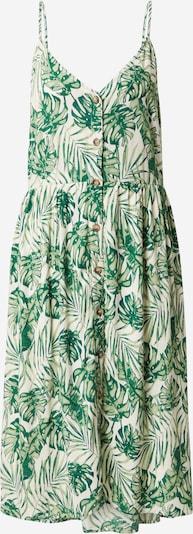 VILA Kleid 'Sanne' in grün / weiß, Produktansicht