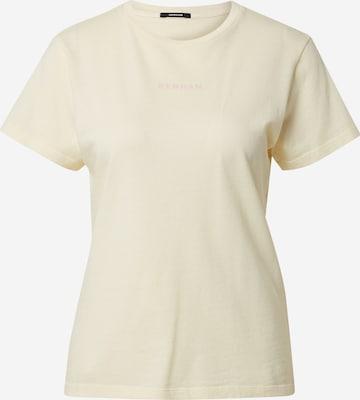DENHAM Тениска 'CAMELLIA' в жълто