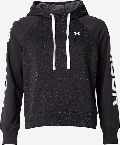 UNDER ARMOUR Sportsweatshirt in grau / schwarz / weiß, Item view
