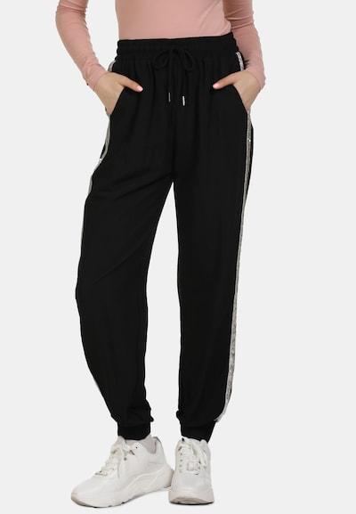 MYMO Jogginghose in schwarz, Modelansicht