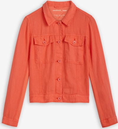 Sandwich Jacke in rot, Produktansicht