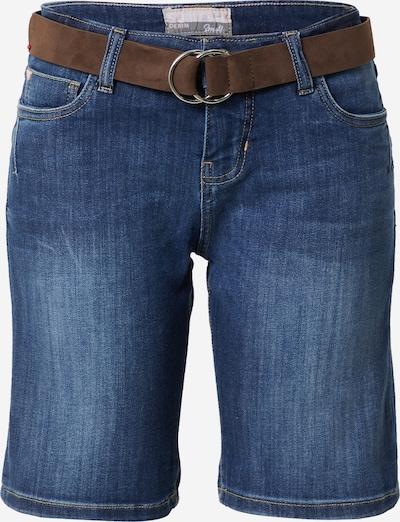 Jeans Sublevel pe denim albastru / maro, Vizualizare produs