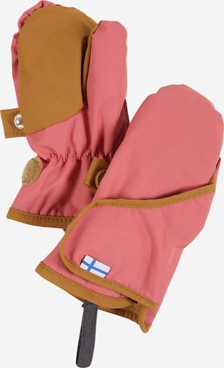 FINKID Rękawiczki 'LAPANEN' w kolorze camel / różowy pudrowym, Podgląd produktu