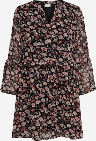 JACQUELINE de YONG Skjortklänning 'Kylie' i blandade färger / roströd / pastellröd / svart, Produktvy