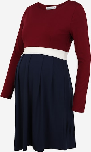 Bebefield Jurk 'Greta' in de kleur Navy / Bourgogne / Wit, Productweergave